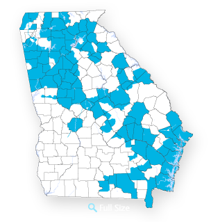 Service Map in Georgia